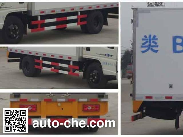 程力威牌CLW5041XLCJ4冷藏车