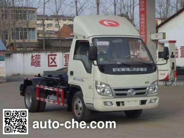 程力威牌CLW5041ZXXB5车厢可卸式垃圾车