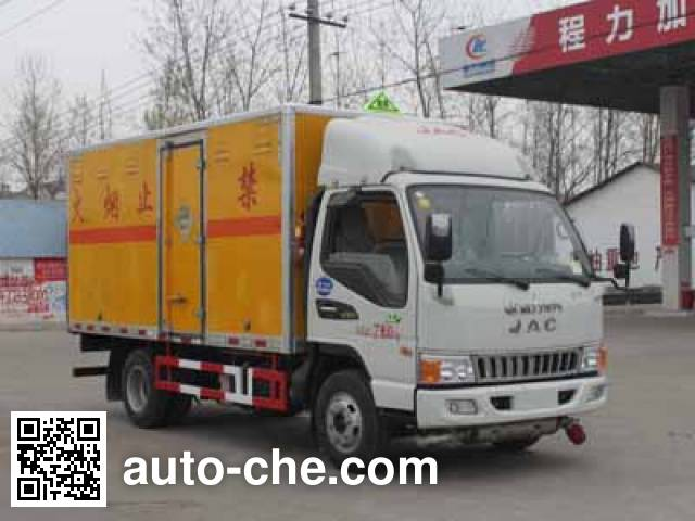 Chengliwei CLW5070XQYH5 explosives transport truck