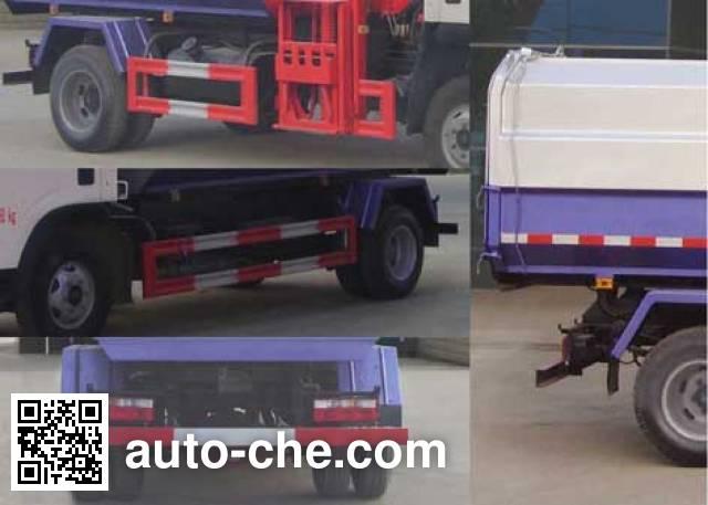 Chengliwei CLW5070ZZZE5 self-loading garbage truck