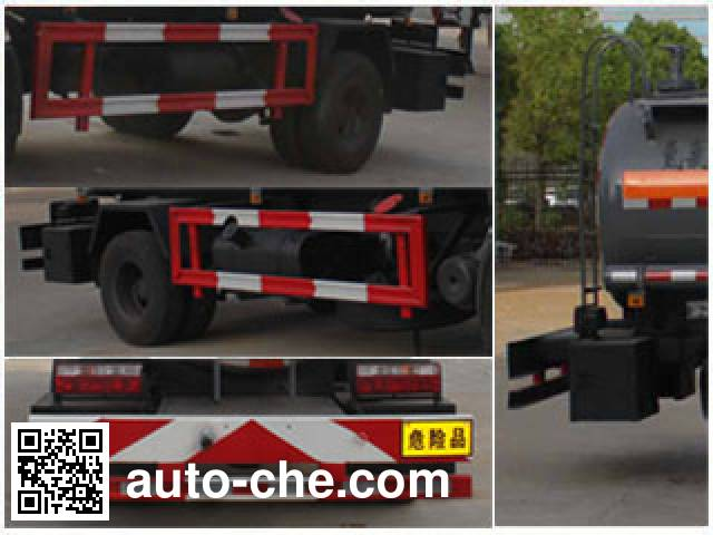 Chengliwei CLW5080GFW4 corrosive substance transport tank truck