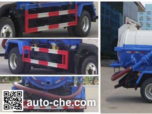 Chengliwei CLW5080GXWE5 sewage suction truck