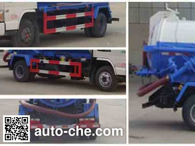 Chengliwei CLW5080GXWH5 sewage suction truck