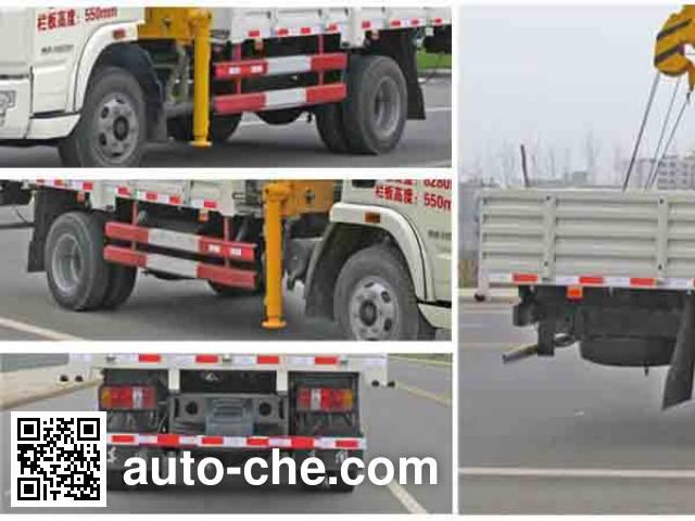 Chengliwei CLW5080JSQN4 truck mounted loader crane