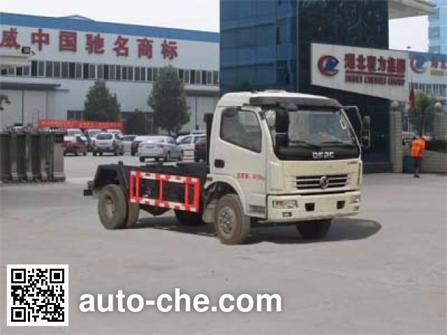 程力威牌CLW5080ZXXD5车厢可卸式垃圾车