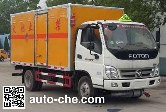 Chengliwei CLW5081XQYB5 explosives transport truck