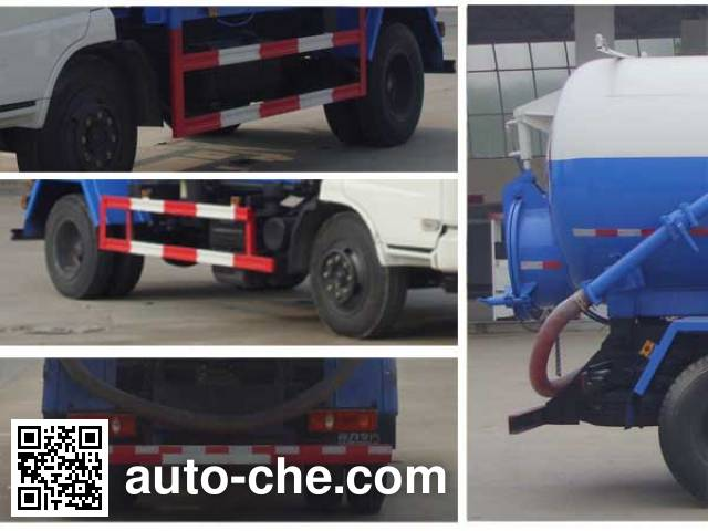 Chengliwei CLW5145GXWE5 sewage suction truck