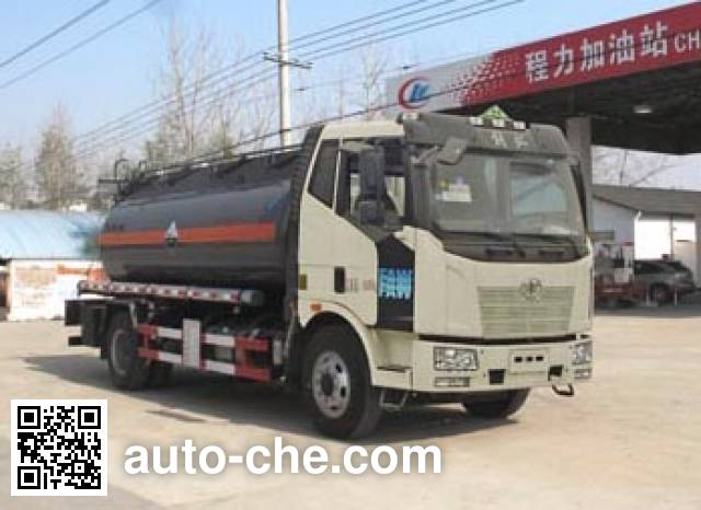 Chengliwei CLW5160GFWC5 corrosive substance transport tank truck
