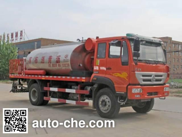 程力威牌CLW5160GLQZ4沥青洒布车