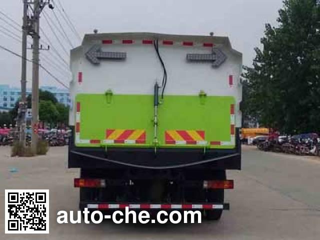 程力威牌CLW5160TSLZ5扫路车