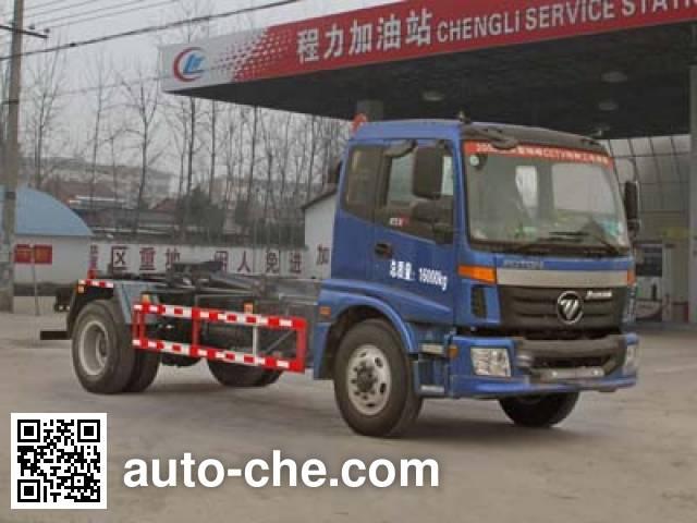 程力威牌CLW5160ZXXB5车厢可卸式垃圾车