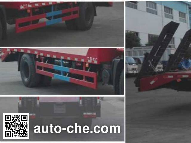 Chengliwei CLW5161TPBT5 flatbed truck