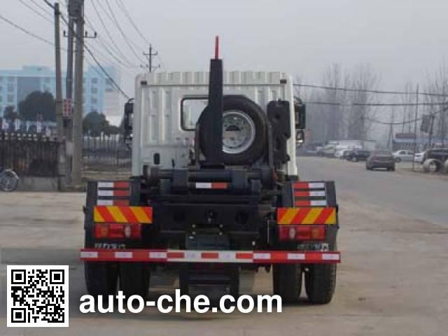 程力威牌CLW5161ZXXT5车厢可卸式垃圾车