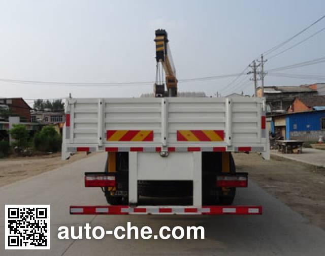 Chengliwei CLW5162JSQD4 truck mounted loader crane