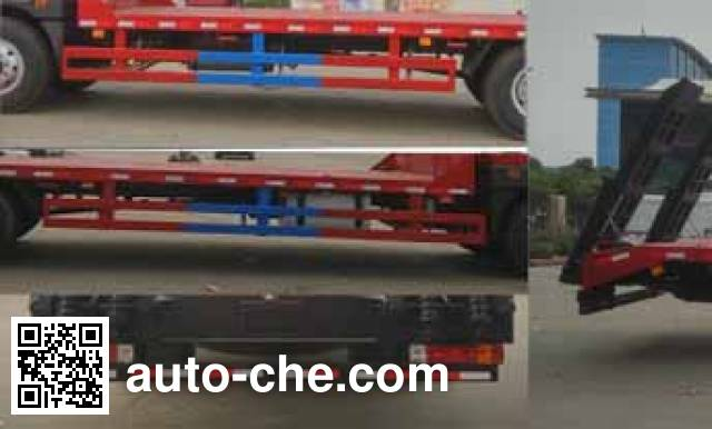 Chengliwei CLW5162TPBC5 flatbed truck