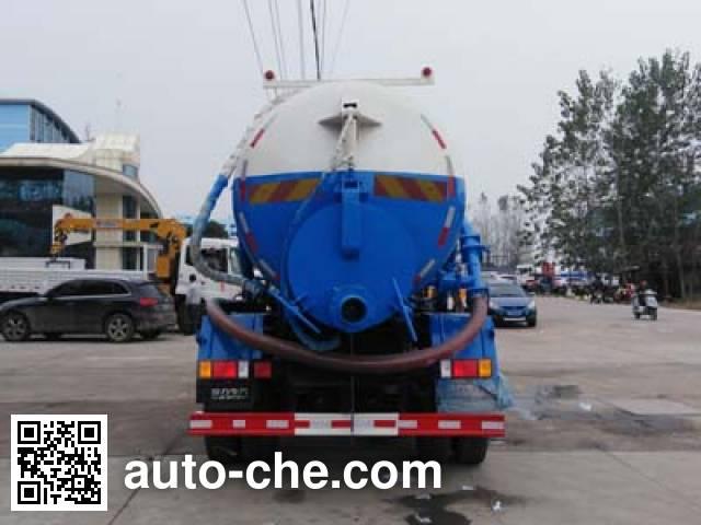 Chengliwei CLW5180GXWL5 sewage suction truck