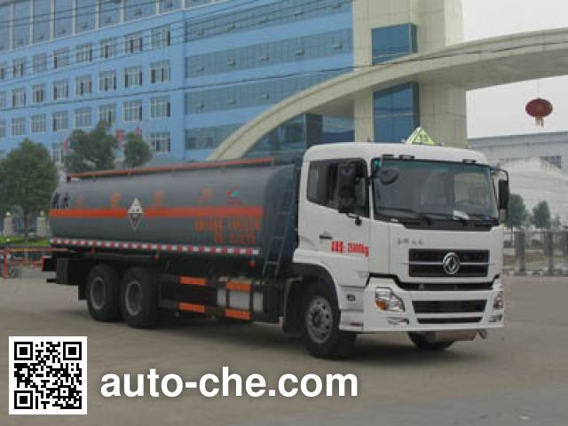 Chengliwei CLW5250GFWD4 corrosive substance transport tank truck