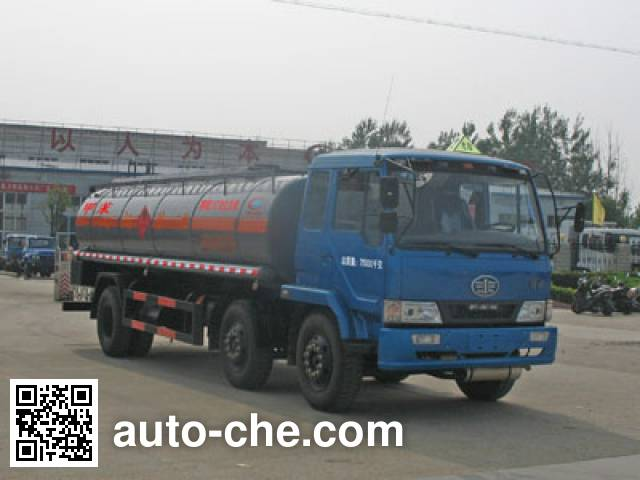 Chengliwei CLW5250GHYC3 chemical liquid tank truck