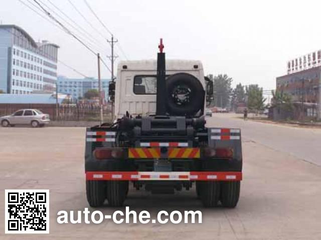 程力威牌CLW5251ZXXD5车厢可卸式垃圾车