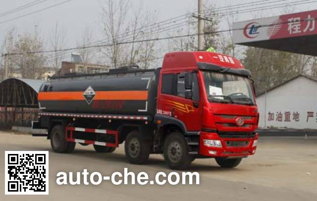 Chengliwei CLW5253GFWC4 corrosive substance transport tank truck