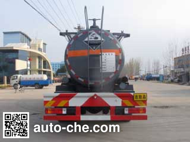 Chengliwei CLW5255GFWC4 corrosive substance transport tank truck