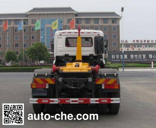 程力威牌CLW5259ZXXD5车厢可卸式垃圾车