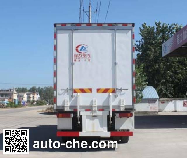 程力威牌CLW5310CCQB4畜禽运输车