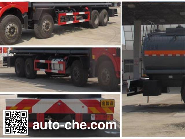 Chengliwei CLW5310GFWC5 corrosive substance transport tank truck