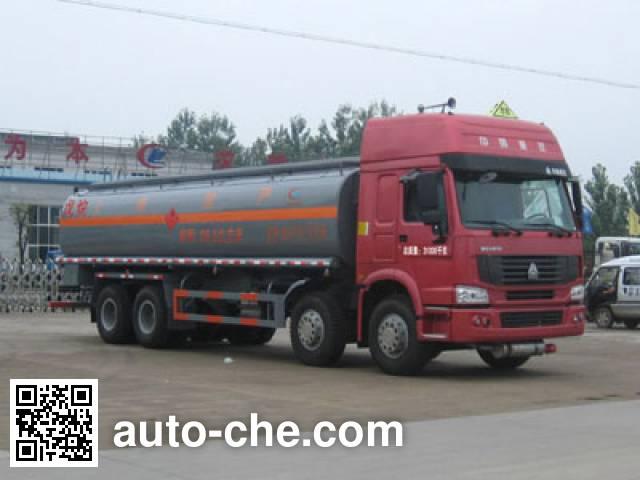 Chengliwei CLW5310GHYZ3 chemical liquid tank truck