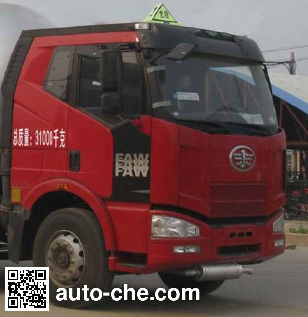 Chengliwei CLW5315GFWC4 corrosive substance transport tank truck