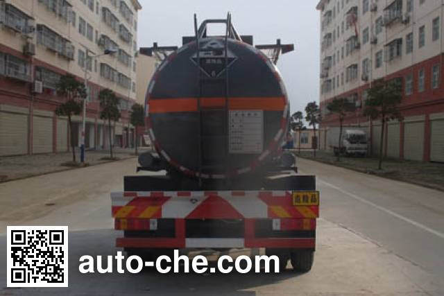 Chengliwei CLW5314GFWC5 corrosive substance transport tank truck