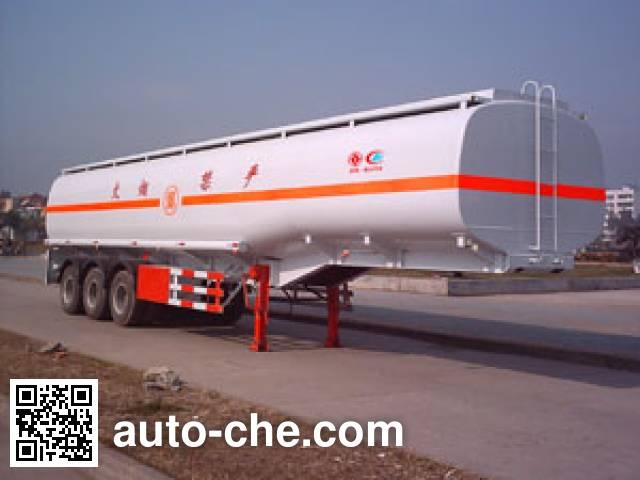 Chengliwei CLW9400GYY oil tank trailer