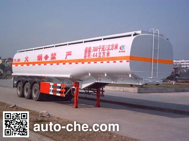 Chengliwei CLW9400GYY oil tank trailer