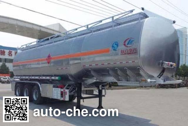 Chengliwei CLW9401GYYL aluminium oil tank trailer
