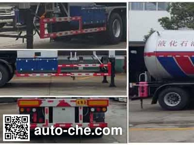 Chengliwei CLW9406GYQB liquefied gas tank trailer
