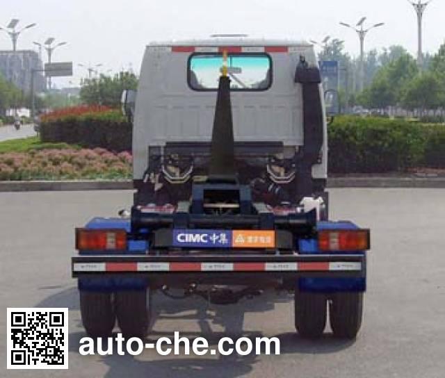 凌宇牌CLY5041ZXX车厢可卸式垃圾车