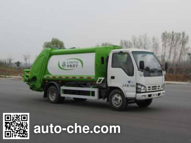 CIMC Lingyu CLY5070ZYSQLE4 garbage compactor truck