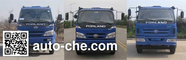 CIMC Lingyu CLY5168GJB concrete mixer truck