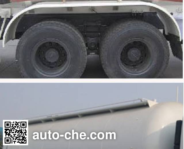 CIMC Lingyu CLY5250GFLA11 low-density bulk powder transport tank truck