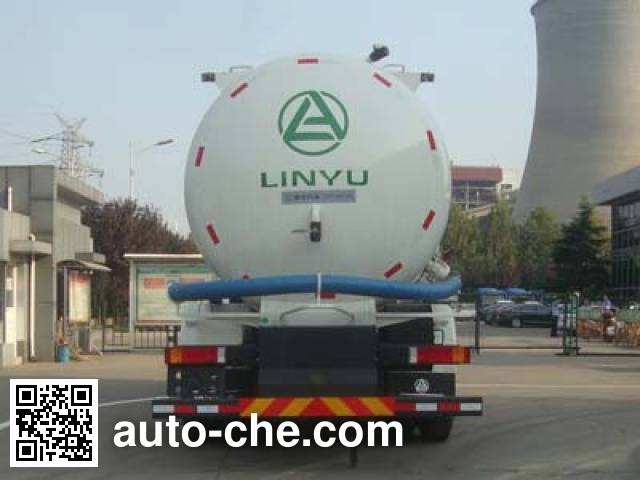 CIMC Lingyu CLY5250GFLA13 low-density bulk powder transport tank truck