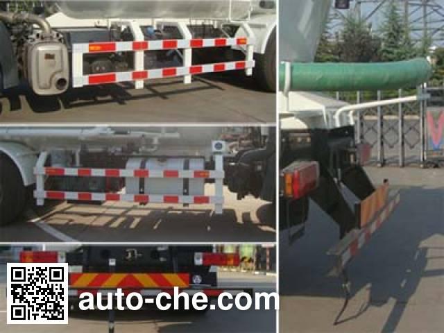 CIMC Lingyu CLY5250GFLCA5 low-density bulk powder transport tank truck