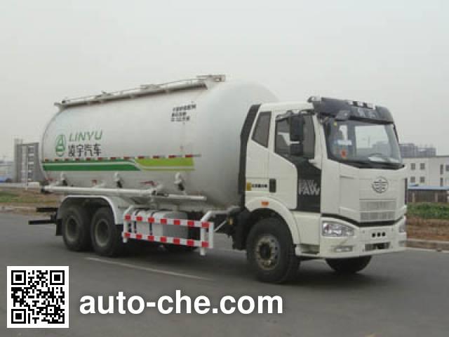 CIMC Lingyu CLY5250GGHCA dry mortar transport truck