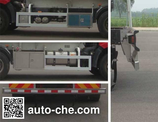 CIMC Lingyu CLY5251GYYA oil tank truck