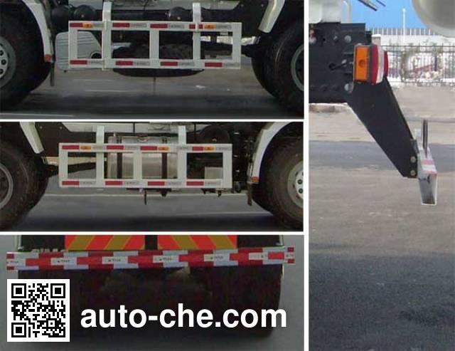 CIMC Lingyu CLY5254GJBSX1 concrete mixer truck