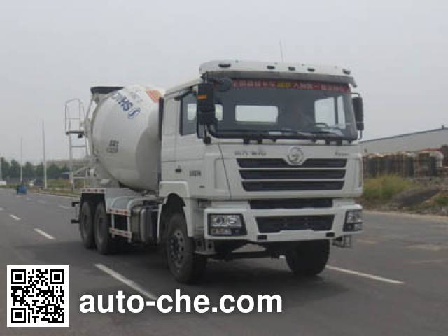 CIMC Lingyu CLY5254GJBSX2 concrete mixer truck