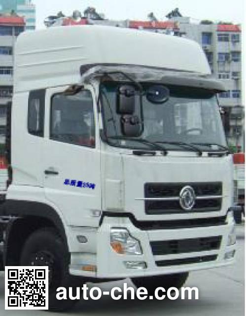 CIMC Lingyu CLY5255GFL bulk powder tank truck
