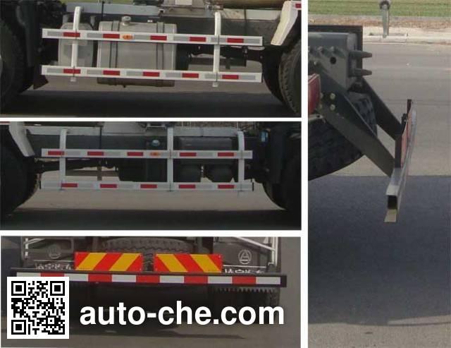 CIMC Lingyu CLY5257GJB43E1 concrete mixer truck