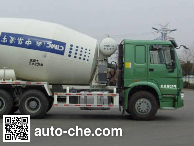 CIMC Lingyu CLY5257GJB7 concrete mixer truck