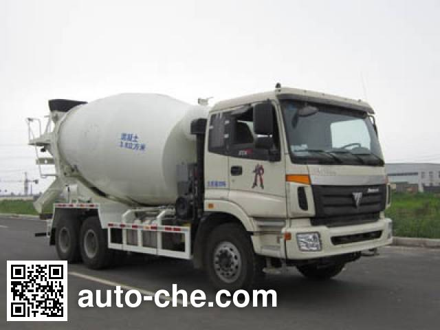 CIMC Lingyu CLY5258GJB8 concrete mixer truck