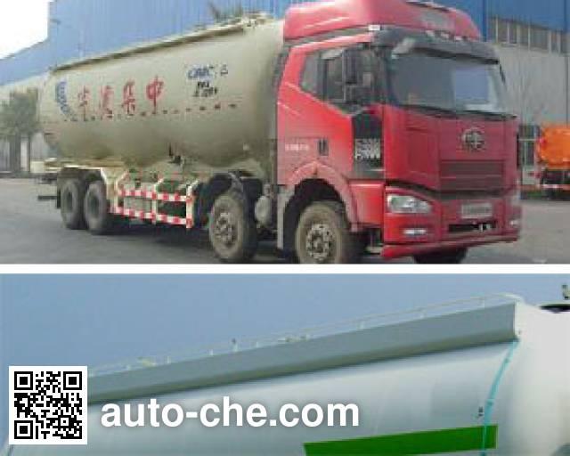 凌宇牌CLY5310GFLCA1低密度粉粒物料运输车